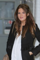 Binky Felstead Casual Style - Outside ITV Studios in London 3/20/ 2017