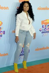 Blac Chyna – Nickelodeon's Kids' Choice Awards in Los Angeles 03/11/ 2017