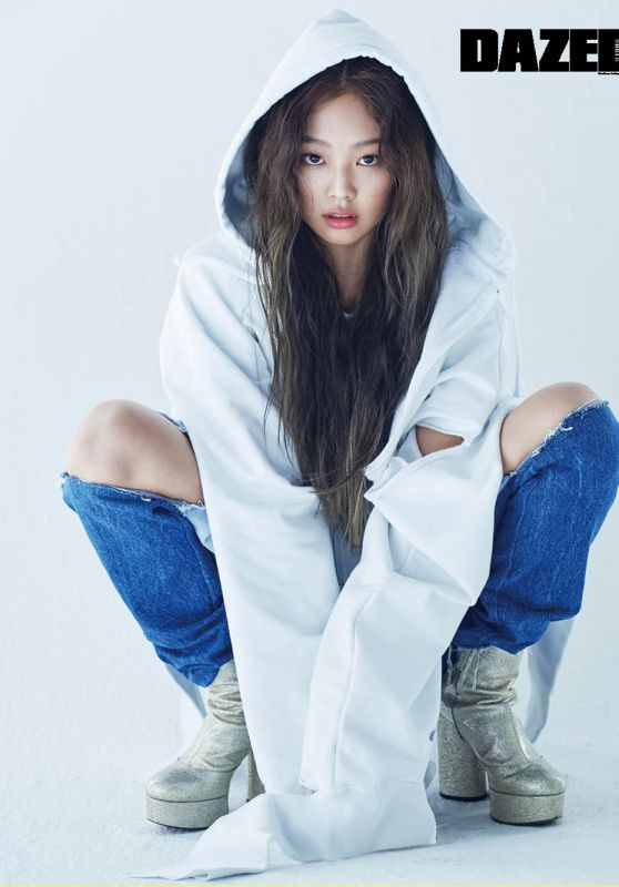 Black Pink Jennie - Dazed and Confused Magazine April 2017