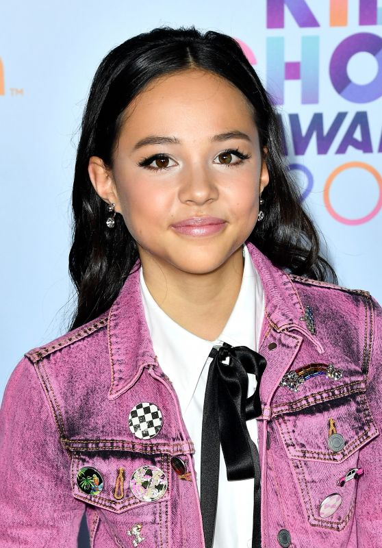 Breanna Yde – Nickelodeon's Kids' Choice Awards in Los Angeles 03/11/ 2017