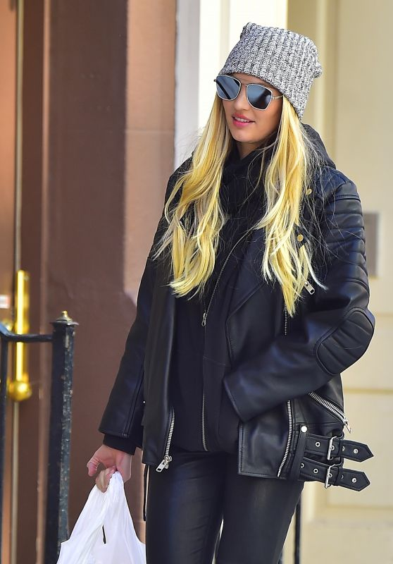 Candice Swanepoel - Shopping in NYC 3/16/ 2017