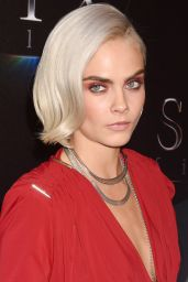 "Cara Delevingne – ""The State of the Industry"" Presentation at CinemaCon in Las Vegas 3/28/2017"