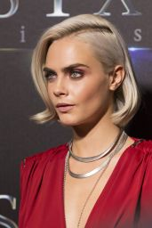 """Cara Delevingne – """"The State of the Industry"""" Presentation at CinemaCon in Las Vegas 3/28/2017"""