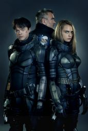 """Cara Delevingne - """"Valerian and the City of a Thousand Planets"""" Photos and Trailers"""