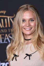 Carly Schroeder – Beauty And The Beast Movie Premiere in Los Angeles 3/2/ 2017