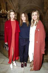 Carmen Jorda at Stella McCartney Show - Paris Fashion Week 3/6/ 2017