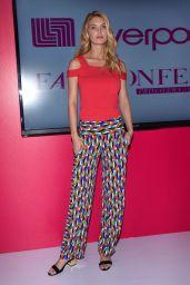 Caroline Lowe – Liverpool Fashion Fest Press Conference in Mexico City 3/8/ 2017