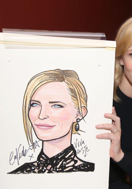 Cate Blanchett and Richard Roxburgh Sardi