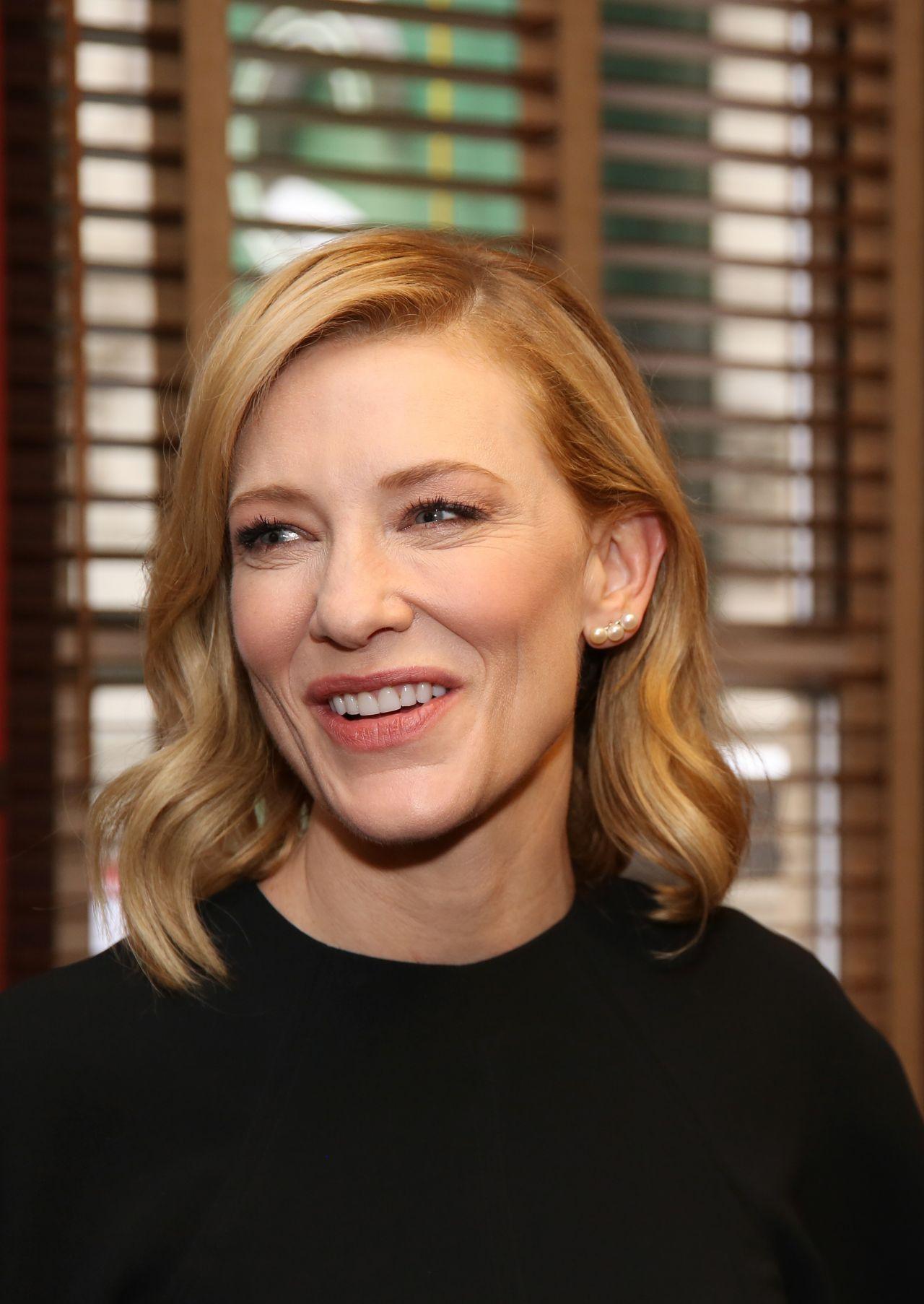 Cate Blanchett and Richard Roxburgh Sardi's Caricature ... Cate Blanchett