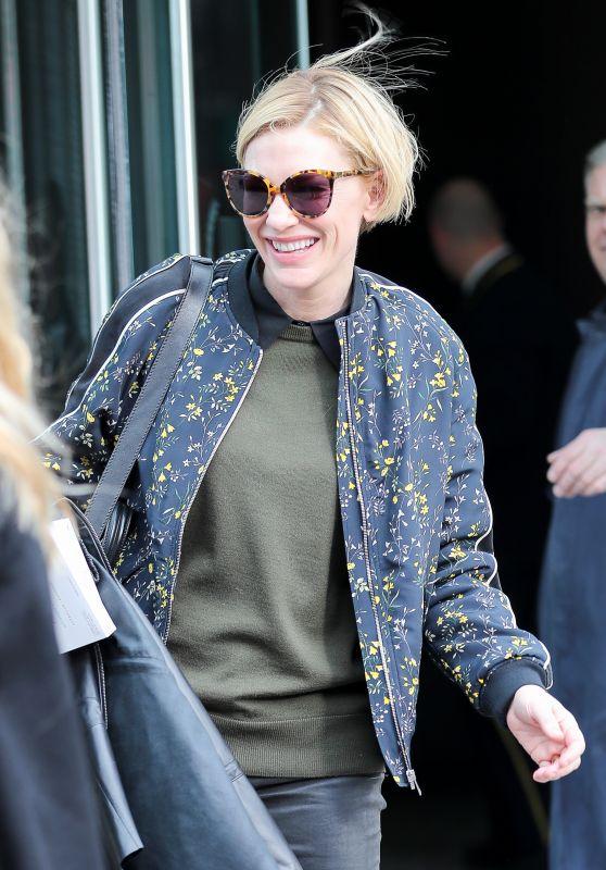 Cate Blanchett in Casual Attire -  New York 3/20/ 2017