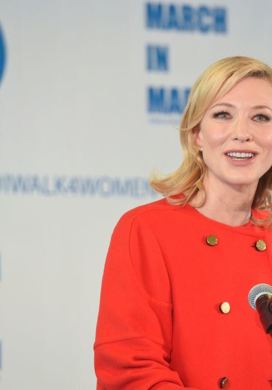 Cate Blanchett - UN Women For Peace Association Awards Luncheon 3/10/ 2017