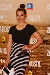 Chanel Terrero – 'Zona Hostil' Premiere in Madrid 3/9/ 2017