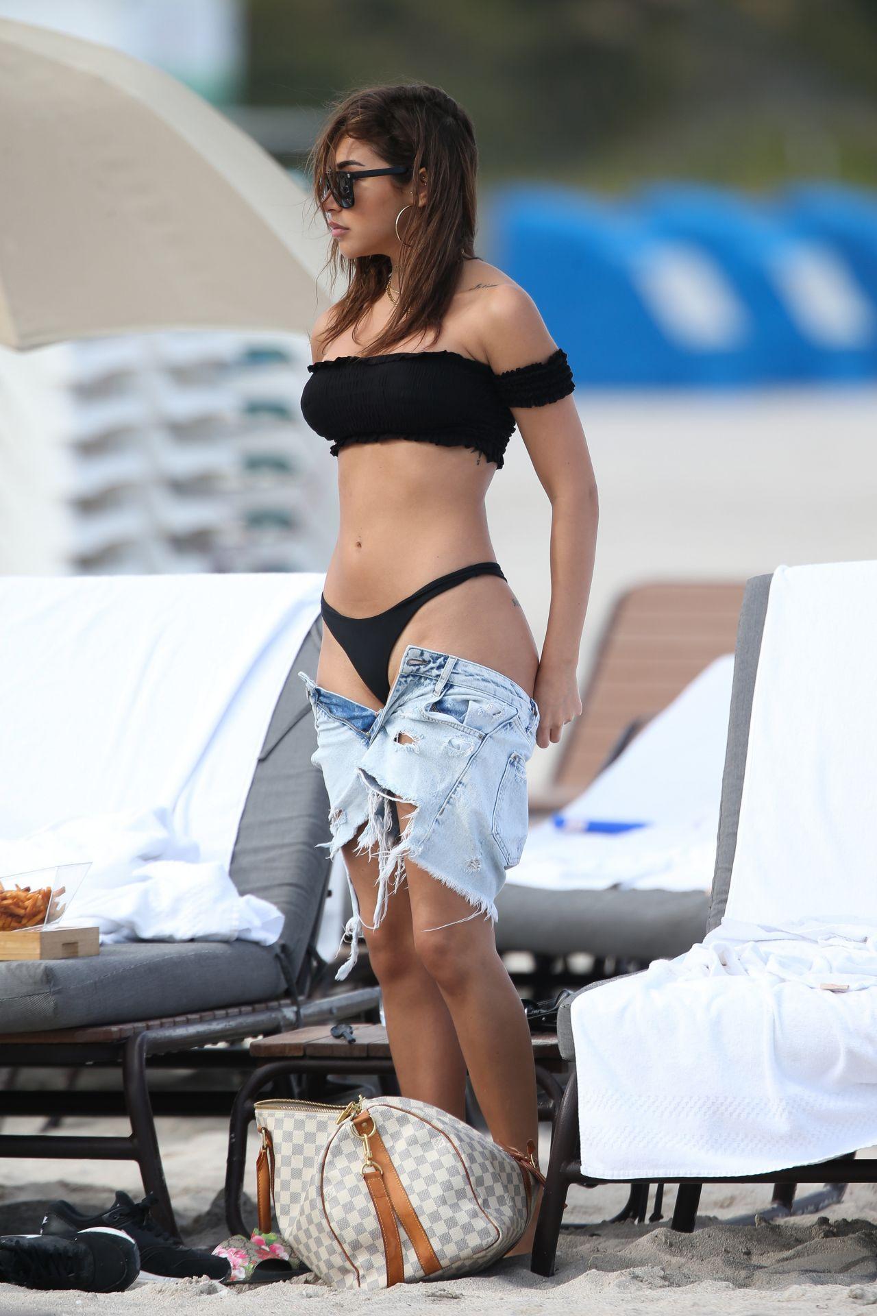 Chantel Jeffries In Bikini At Miami Beach 3 26 2017