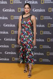 "Charity Wakefield - ""Genius"" Premiere at Cineworld Haymarket in London 3/30/2017"