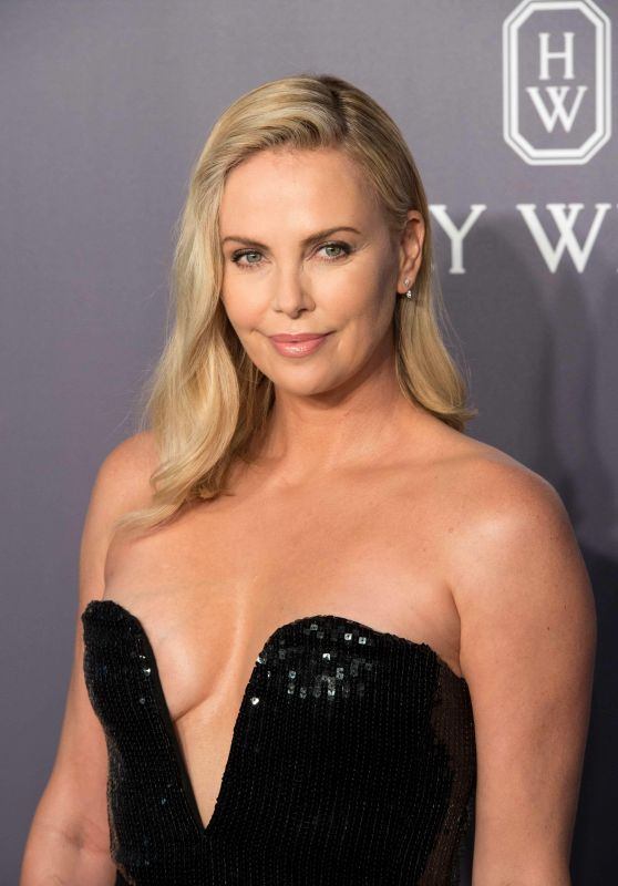 Charlize Theron - amfAR Gala in Hong Kong 3/25/ 2017