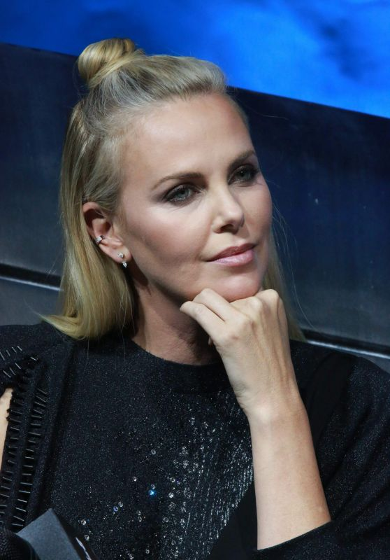 Charlize Theron - The Fate of the Furious Press Conference in Beijing 3/23/ 2017