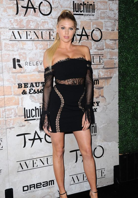 Charlotte McKinney – TAO, Beauty + Essex, Avenue + Luchini LA Grand Opening 3/16/ 2017
