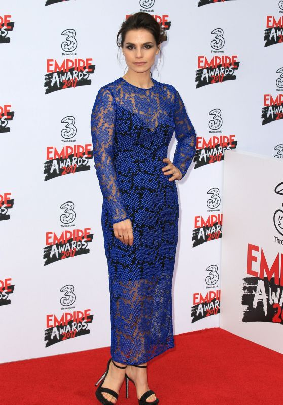 Charlotte Riley on Red Carpet - Three Empire Awards in London 3/19/ 2017
