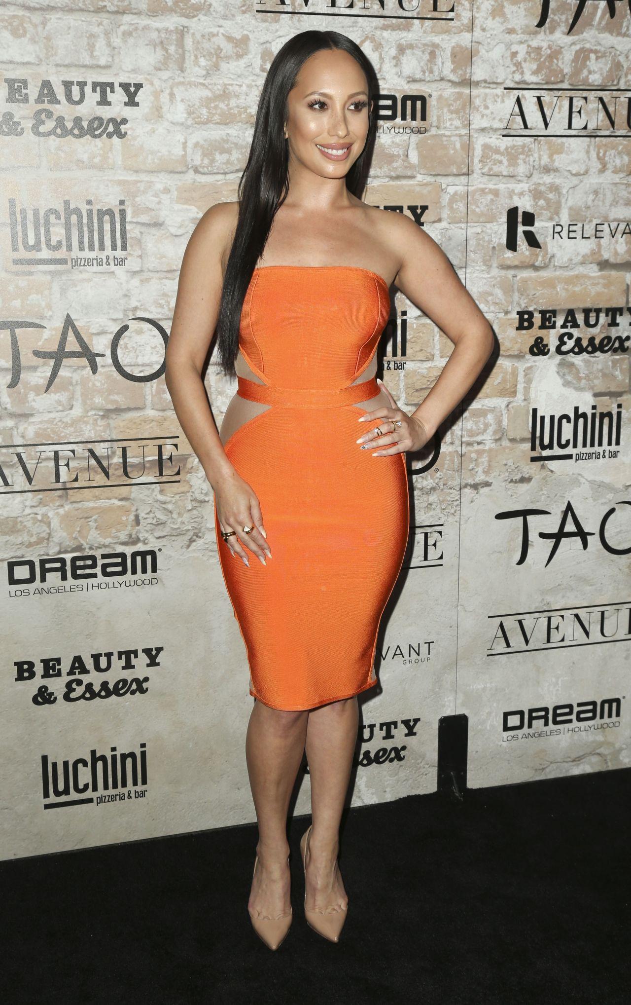 Cheryl Burke – TAO, Beauty + Essex, Avenue + Luchini LA ... Cheryl Burke