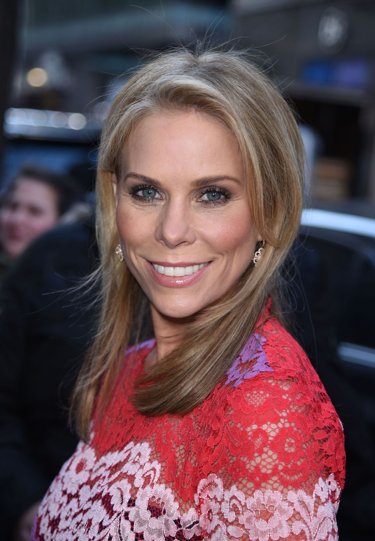 Cheryl Hines -Enters the Today Show Studios in New York ... Cheryl Hines