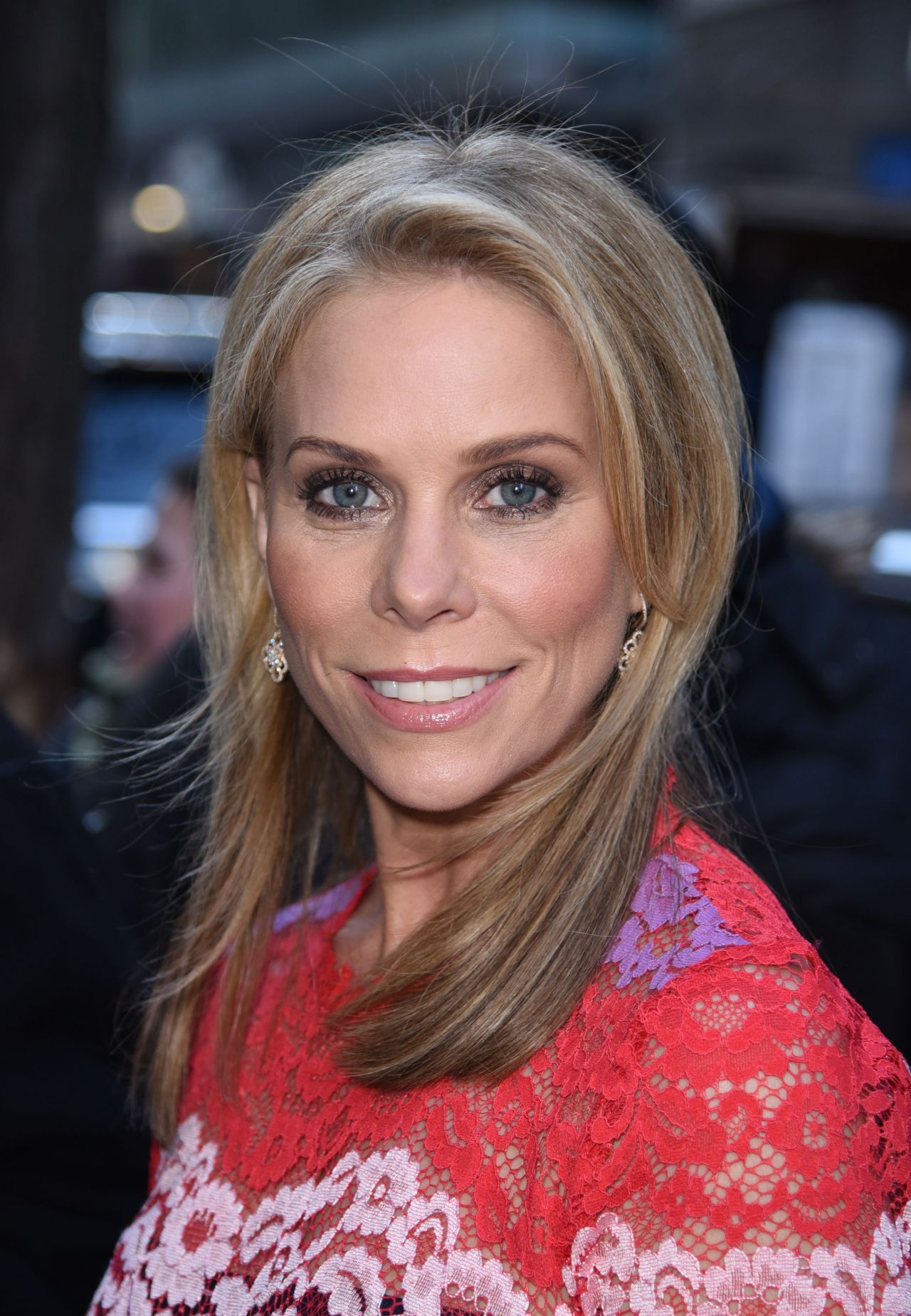 Cheryl Hines -Enters the Today Show Studios in New York ...