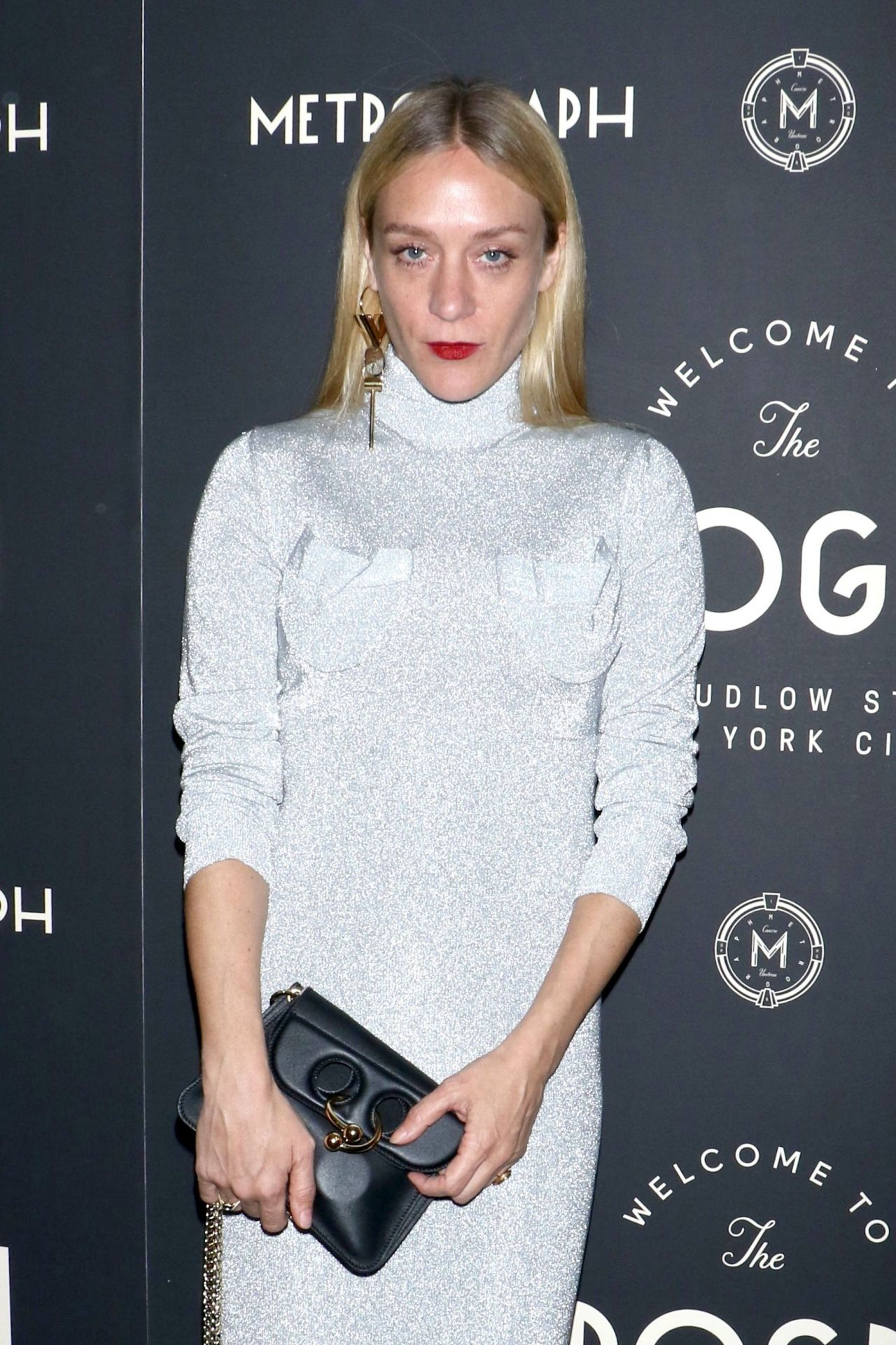 Chloe Sevigny Attends Metrograph 1st Year Anniversary