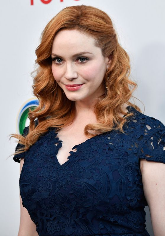 Christina Hendricks - UCLA Environment and Sustainability Gala in Los Angeles 3/13/ 2017