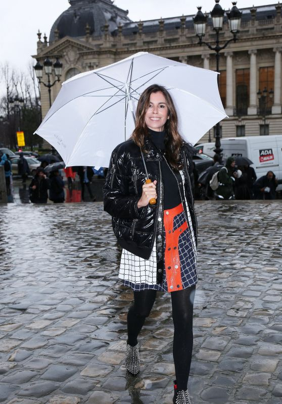 Christina Pitanguy – Arriving at the Elie Saab Fashion Show at Paris Fashion Week 3/4/ 2017