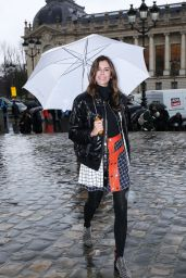 Christina Pitanguy – Arriving at the Elie Saab Fashion Show at Paris Fashion Week 3/4/ 2017