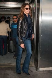 Cindy Crawford at the LAX Airport in Los Angeles 03/12/ 2017