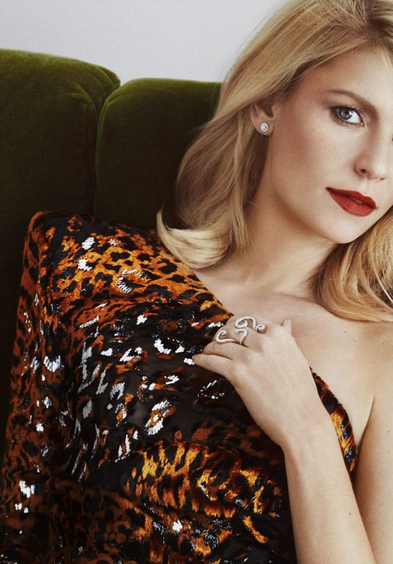 Claire Danes - Marie Claire UK April 2017  Cover and Photos