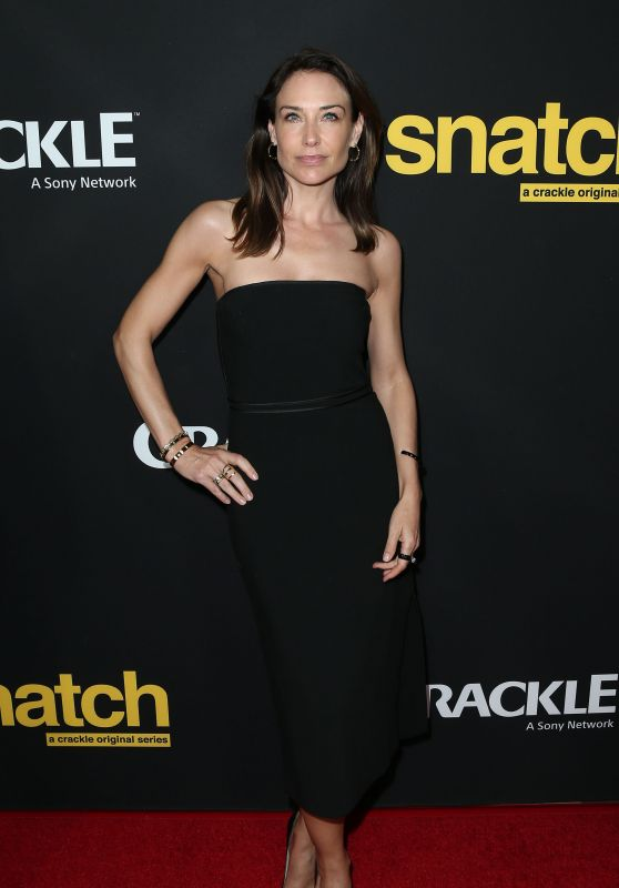 Claire Forlani – Crackle's 'Snatch' Screening in Los Angeles 3/9/ 2017