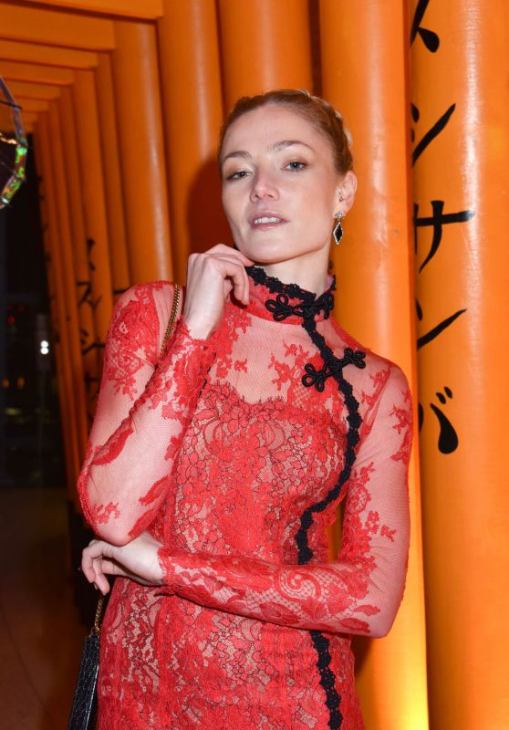 Clara Paget – Sushi Samba x Cool Earth Carnival Party in London 2/28/ 2017