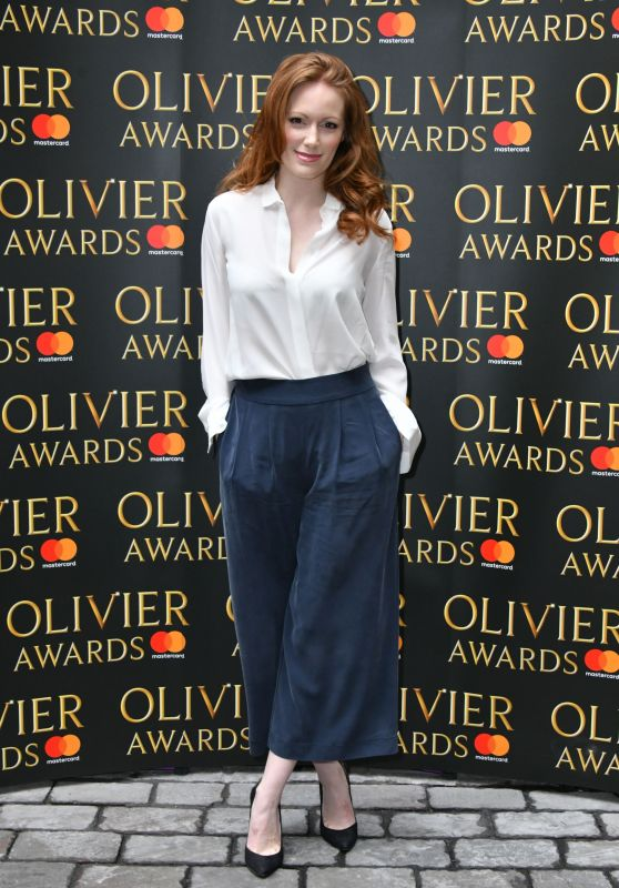 Clare Foster - The Olivier Awards Nominees Lluncheon at Rosewood Hotel in London 3/10/ 2017