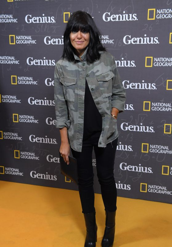 "Claudia Winkleman - ""Genius"" Premiere at Cineworld Haymarket in London 3/30/2017"
