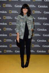 "Claudia Winkleman - ""Genius"" Premiere at Cineworld Haymarket in London 3/30/2017"