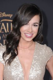 Colleen Ballinger – 'Beauty And The Beast' Movie Premiere in Los Angeles 3/2/ 2017
