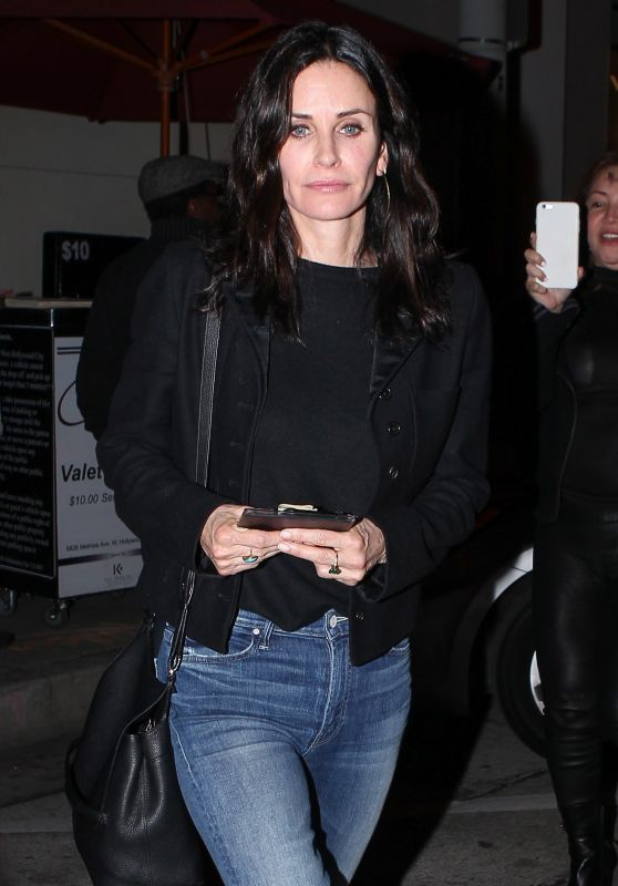 Courteney Cox - Leaving Craig