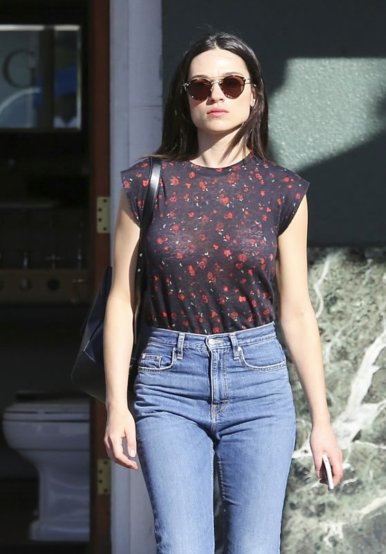 Crystal Reed in Casual Attire - Los Angeles 3/7/ 2017