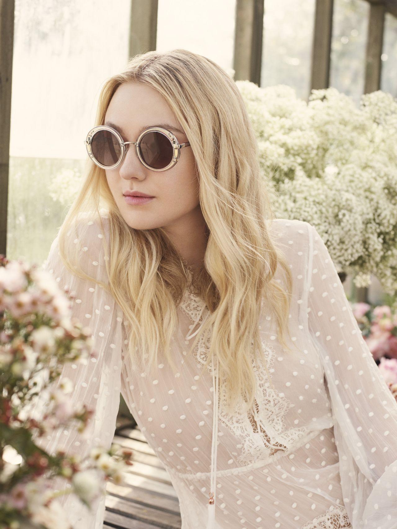 Dakota Fanning Photoshoot For Jimmy Choo Spring Summer 2017