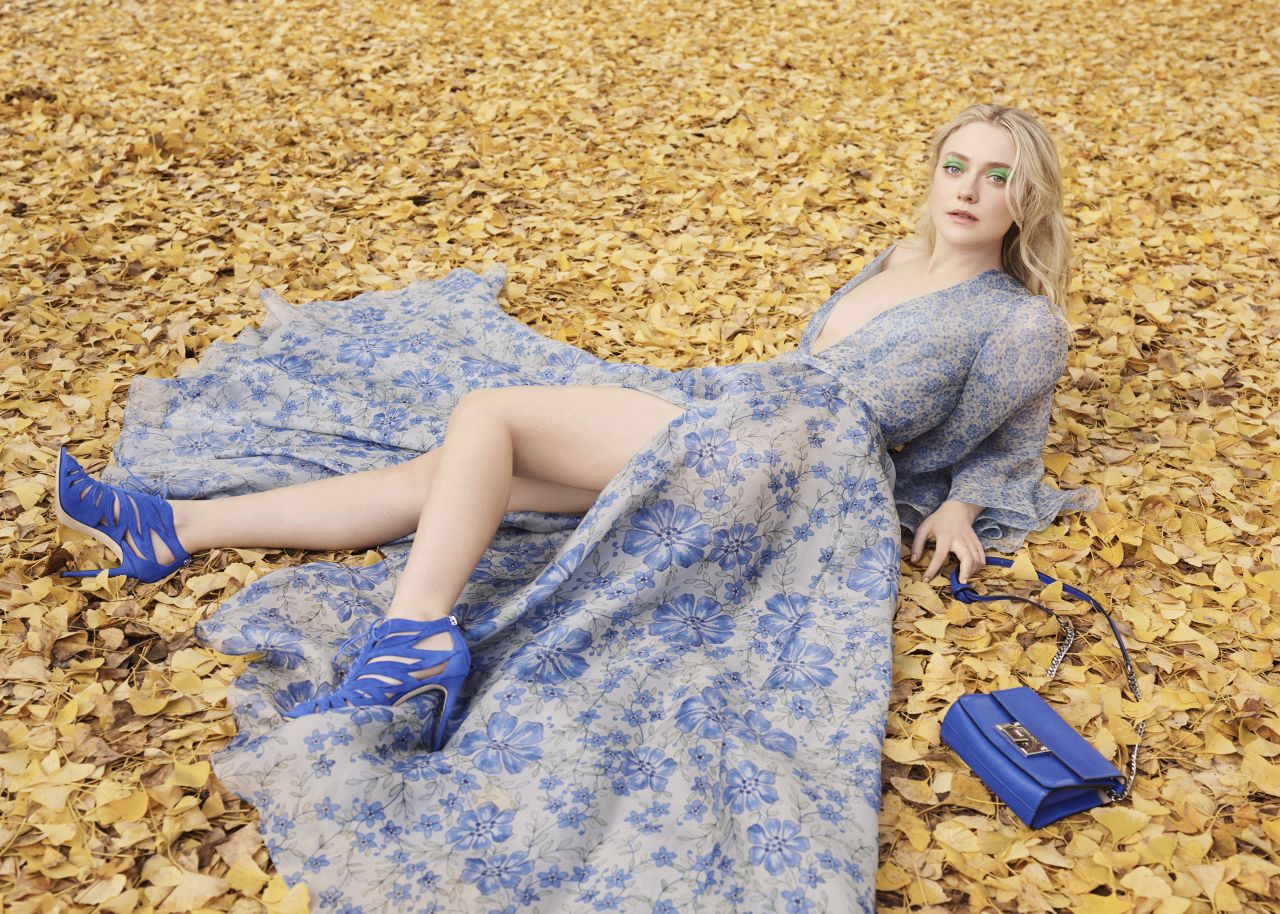 Dakota Fanning - Photoshoot for Jimmy Choo Spring/Summer 2017