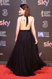 Daphne Scoccia – David di Donatello Awards in Rome 3/27/2017
