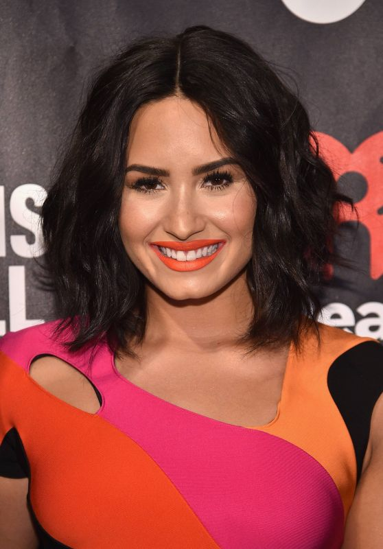 Demi Lovato - A Night To Celebrate Elvis Duran presented by Musicians On Call in NYC 3/21/ 2017