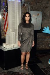 Demi Lovato at The Empire State Building in NYC 3/20/ 2017