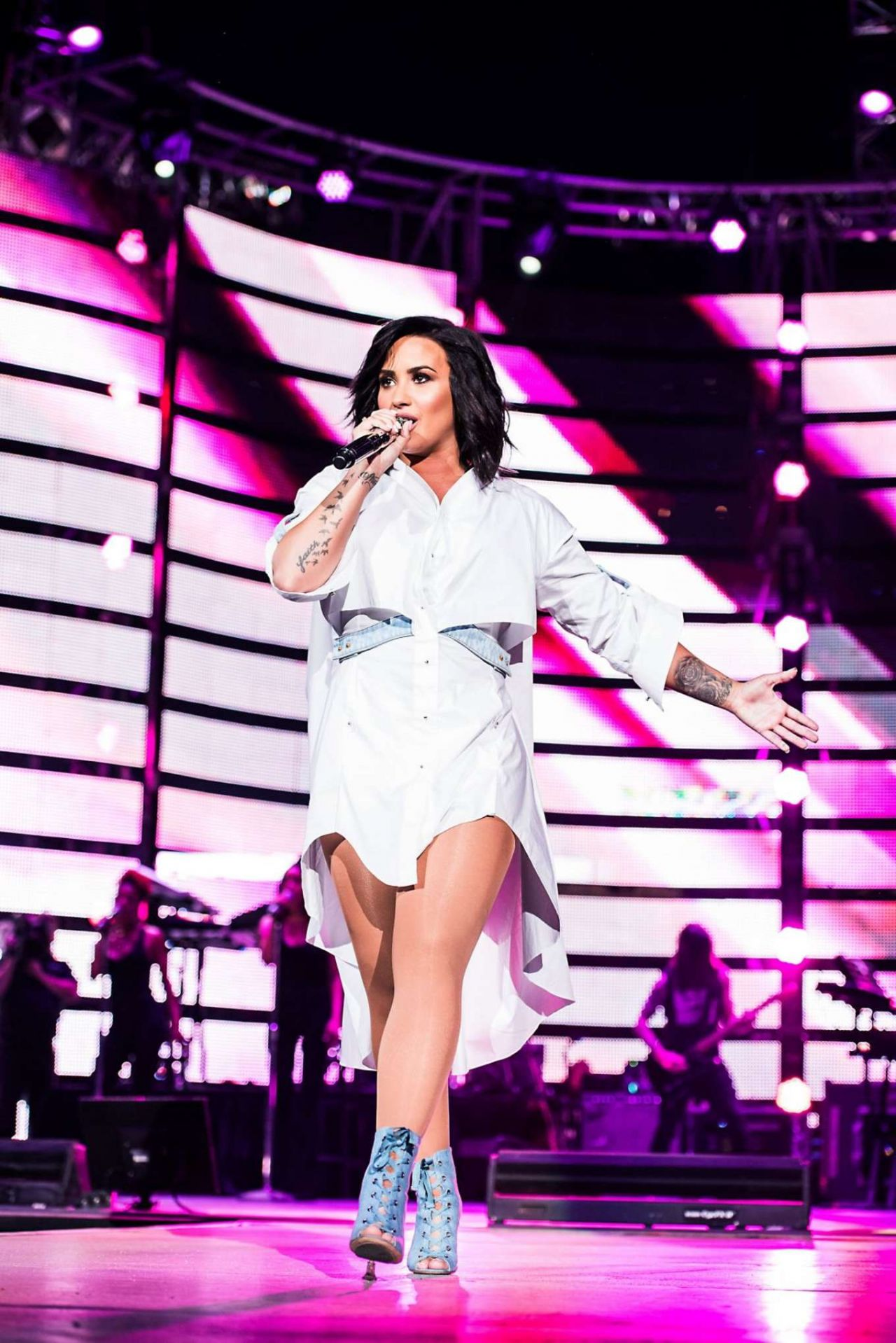 Demi Lovato - Performing at the Houston Livestock Show and Rodeo 3/14/ 2017