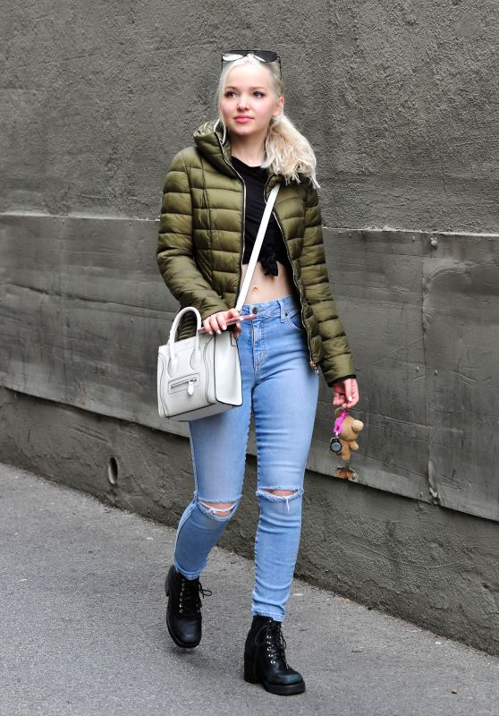 Dove Cameron in Ripped Jeans - Out in Beverly Hills, CA 3/1/ 2017