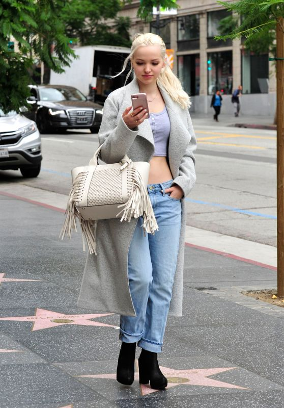 Dove Cameron - Leaving a Store on Hollywood Blvd in LA 3/6/ 2017