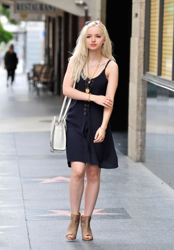 Dove Cameron - Out on Hollywood Blvd in LA 3/16/ 2017