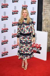 Edith Bowman on Red Carpet – Three Empire Awards in London 3/19/ 2017