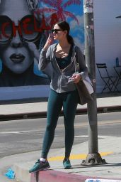 Eiza Gonzalez in Tights - Shopping in West Hollywood, CA 3/28/2017